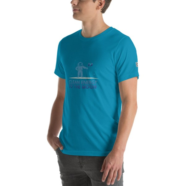 Clean Energy to the Moon Short Sleeve T-Shirt - Multiple Color Options 78
