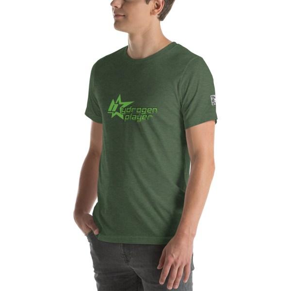 Hydrogen Player Short-Sleeve Unisex T-Shirt Multiple Colors 22