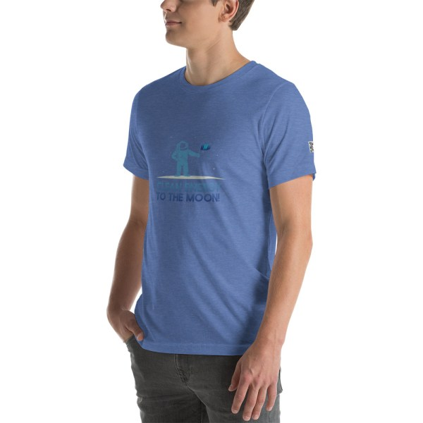 Clean Energy to the Moon Short Sleeve T-Shirt - Multiple Color Options 81