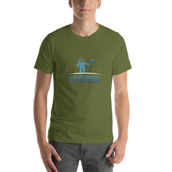 Clean Energy to the Moon Short Sleeve T-Shirt - Multiple Color Options 70