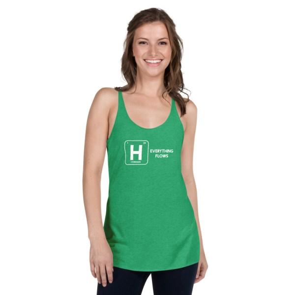 Hydrogen Element Women's Racerback Tank 14