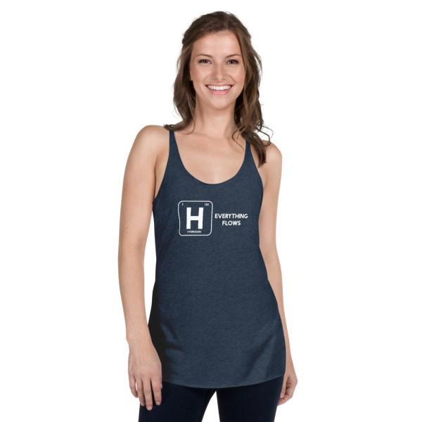 Hydrogen Element Women's Racerback Tank 5