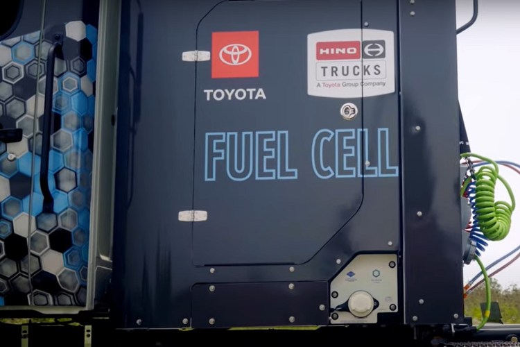 Hydrogen Fuel Cell Truck - Hino Trucks FCV Live! - HINOTRUCKSUSA YouTube