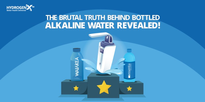bottled alkaline water
