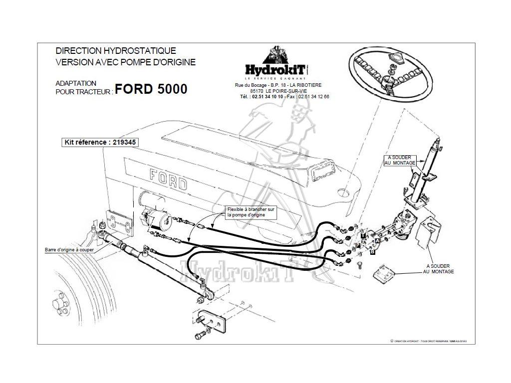 Ford Power Steering Diagram