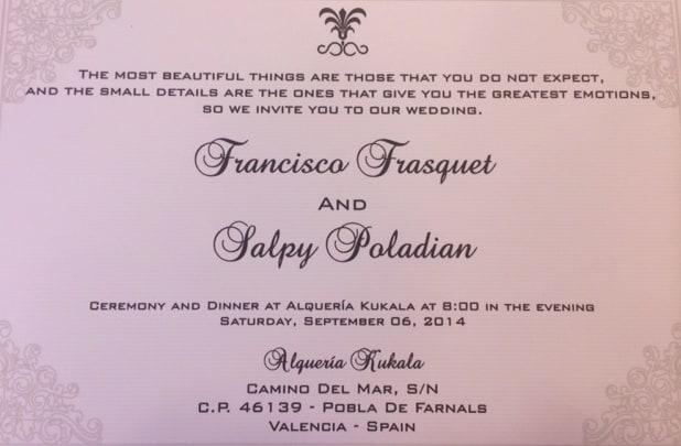 Trilingual Wedding Invitations Hyegraph