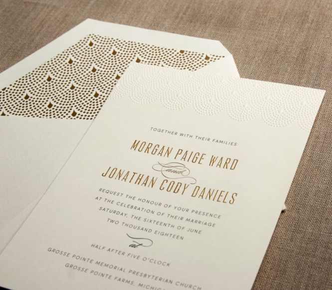 William Arthur Wedding Invitations Stationery Hyegraph