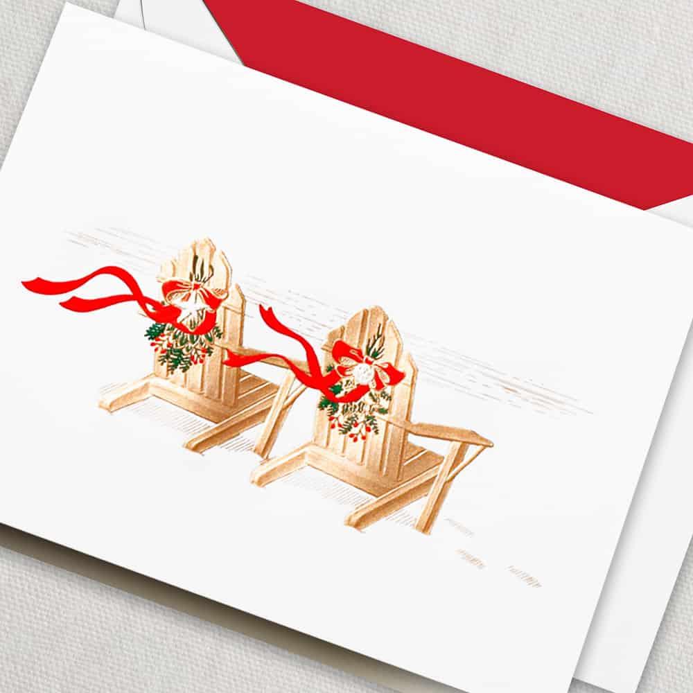 Crane Christmas Cards On Sale Christmas Lights Card And