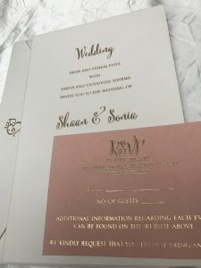 Shaan Sonia S Indian Wedding Invitations By Hyegraph