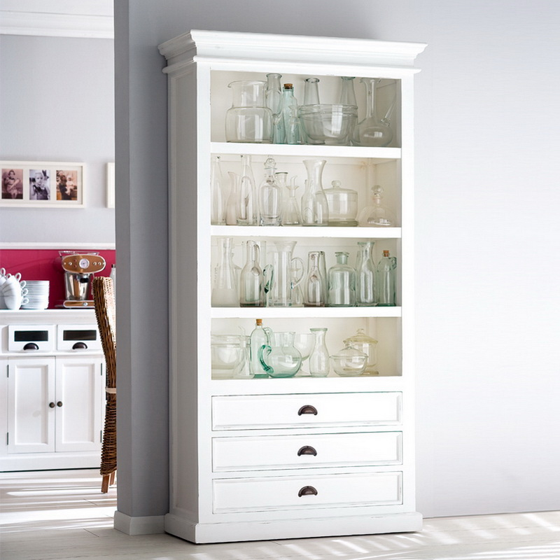 Halifax Bookcase with Three Drawers