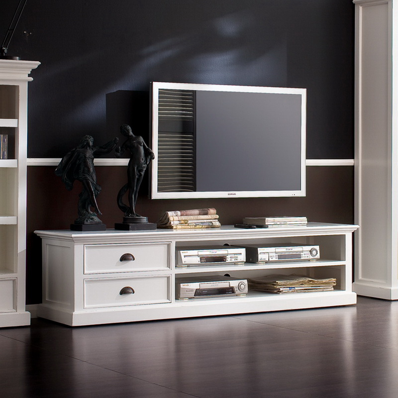 Halifax Entertainment Unit Large with Two Drawers