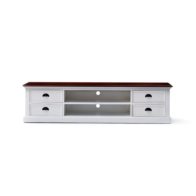 Halifax Accent Entertainment Unit Large with Four Drawers