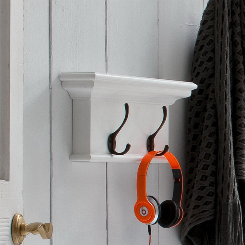 Halifax Coat Rack with Two Hooks