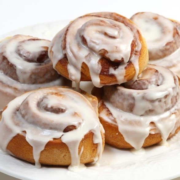 Damn Good Danish Cinnamon Rolls