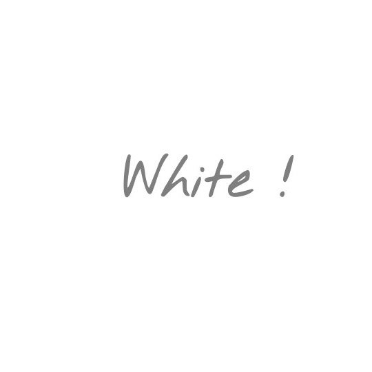 What is white