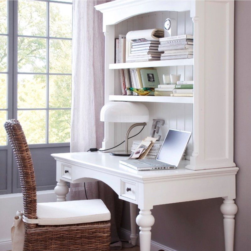Provence Secretary Desk with Top