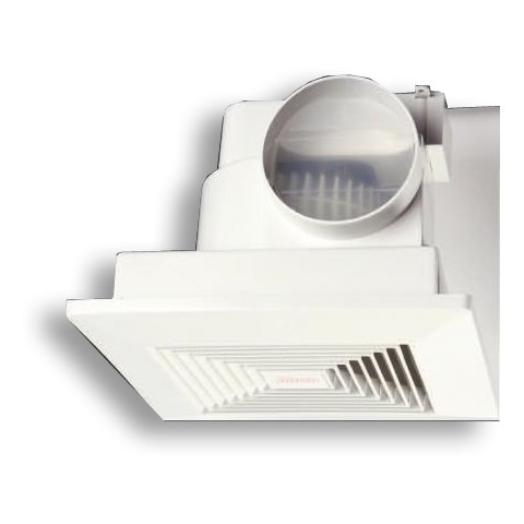 ceiling mounted extractor fan with run on timer