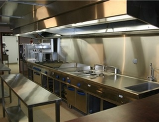 Installation De Hotte De Cuisine Professionnelle Dans Les