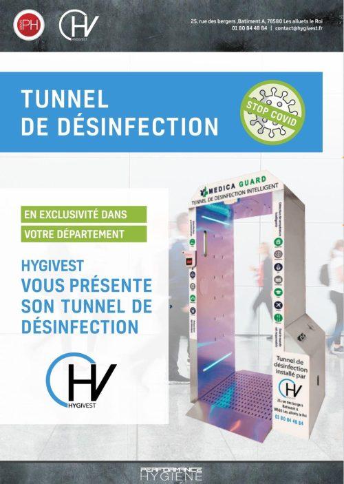 Tunnel de désinfection