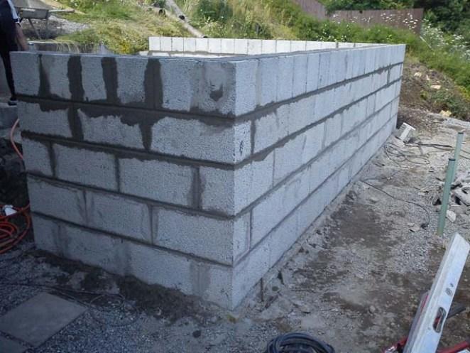 Grunn mur i Leca (Weber)