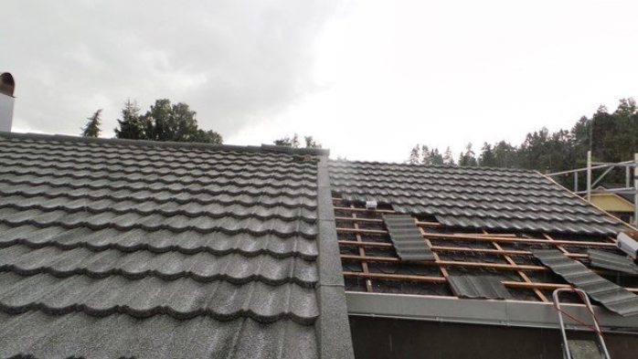 Legging av Decra Classic takplater