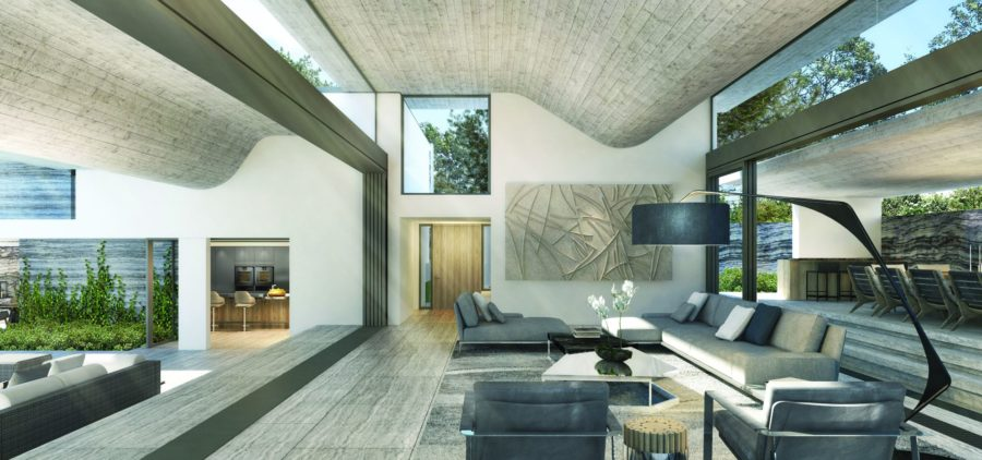 villa saint tropez avec fenêtres haut de gamme Hyline
