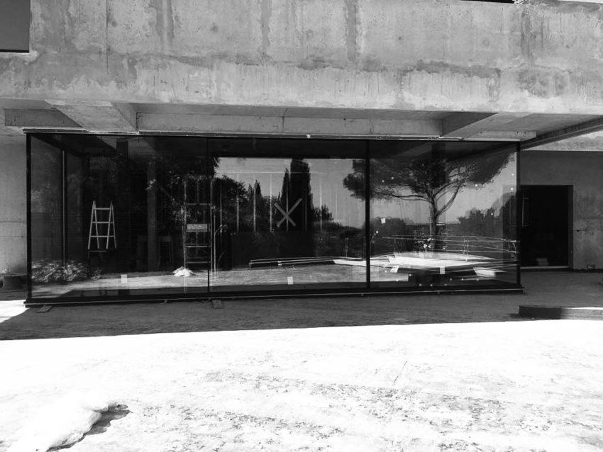 Fenêtre coulissante minimaliste à Castelnau-Le-Lez