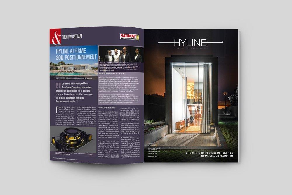 , Presse book HYLINE