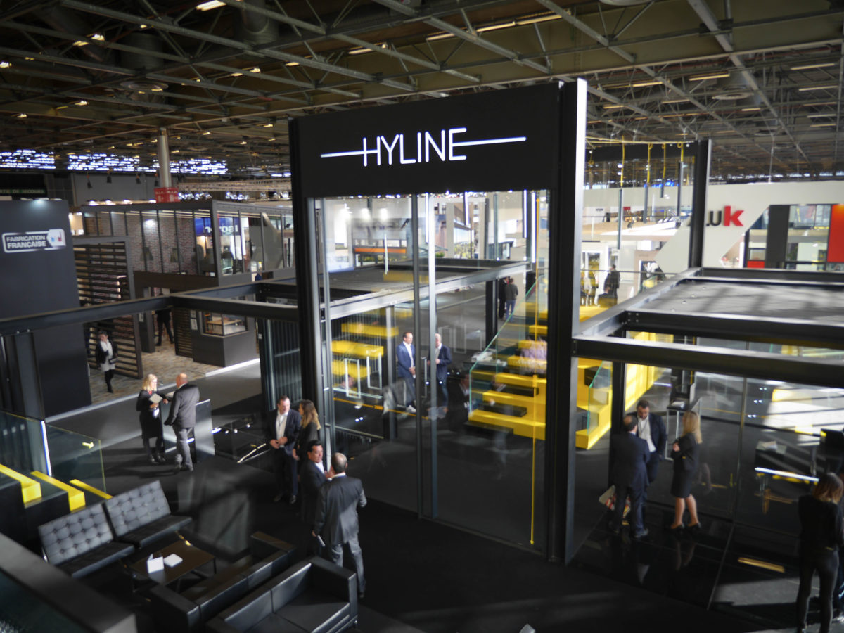 Hyline au salon Batimat à paris
