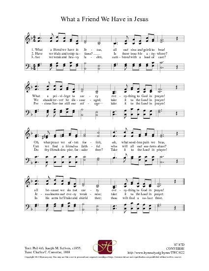 Unique What A Friend We Have In Jesus Chords Motif - Beginner Guitar ...