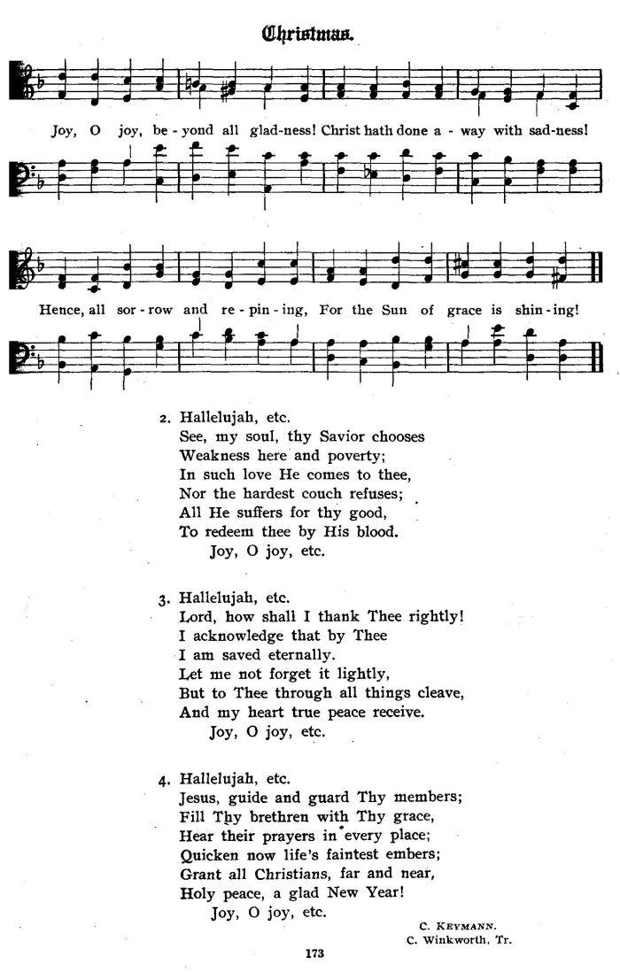 Hallelujah Hallelujah O Rejoice