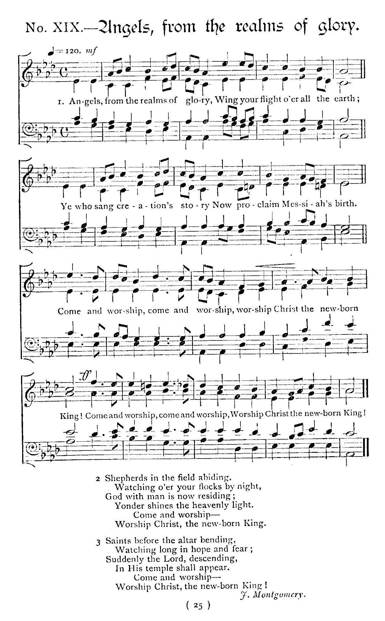 Glory Glory Hallelujah Sheet Music Free