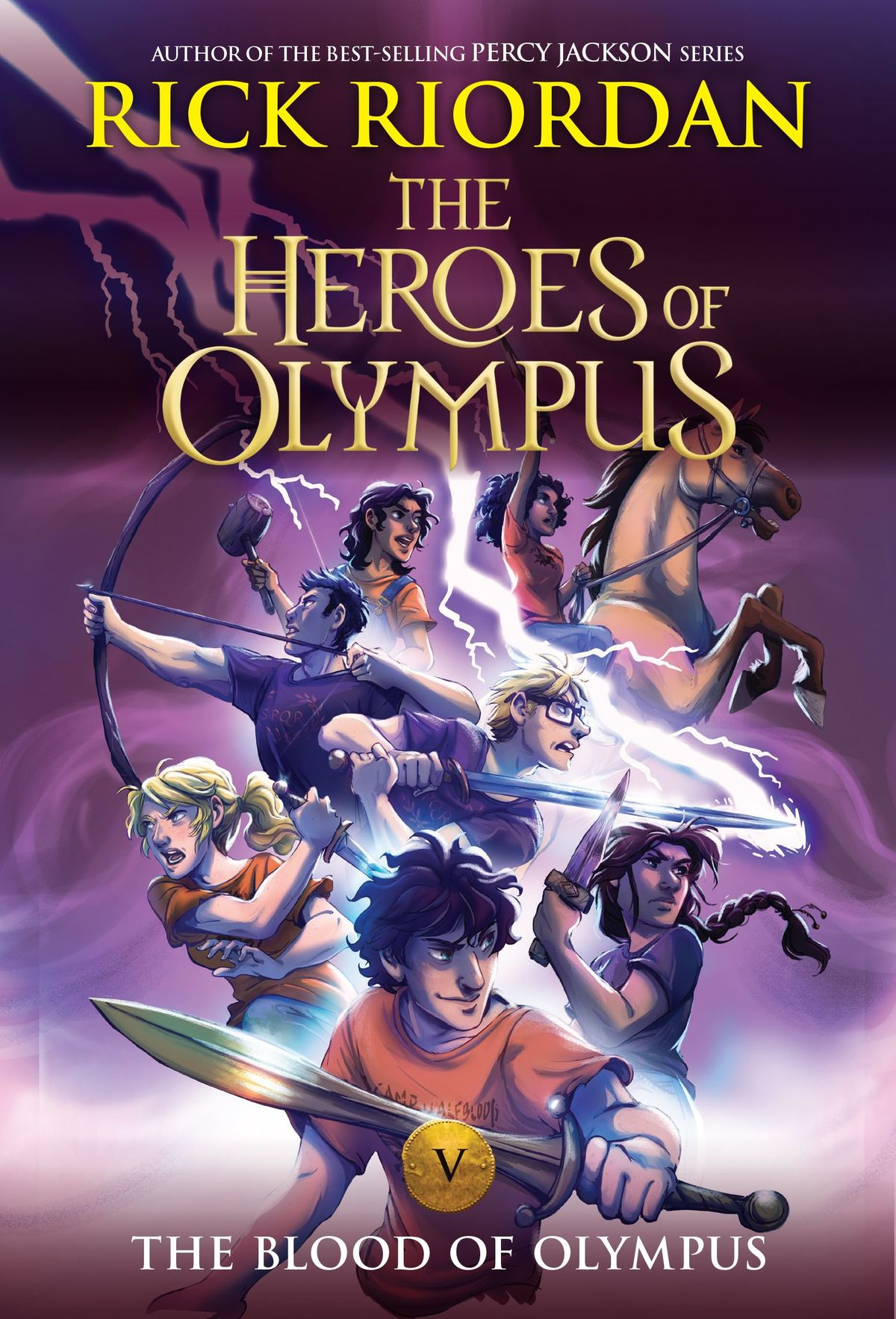 Heroes Of Olympus Series By Rick Riordan Receives