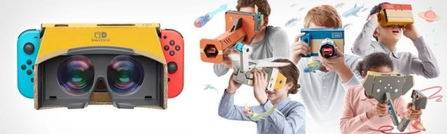 nintendo labo vr review kits