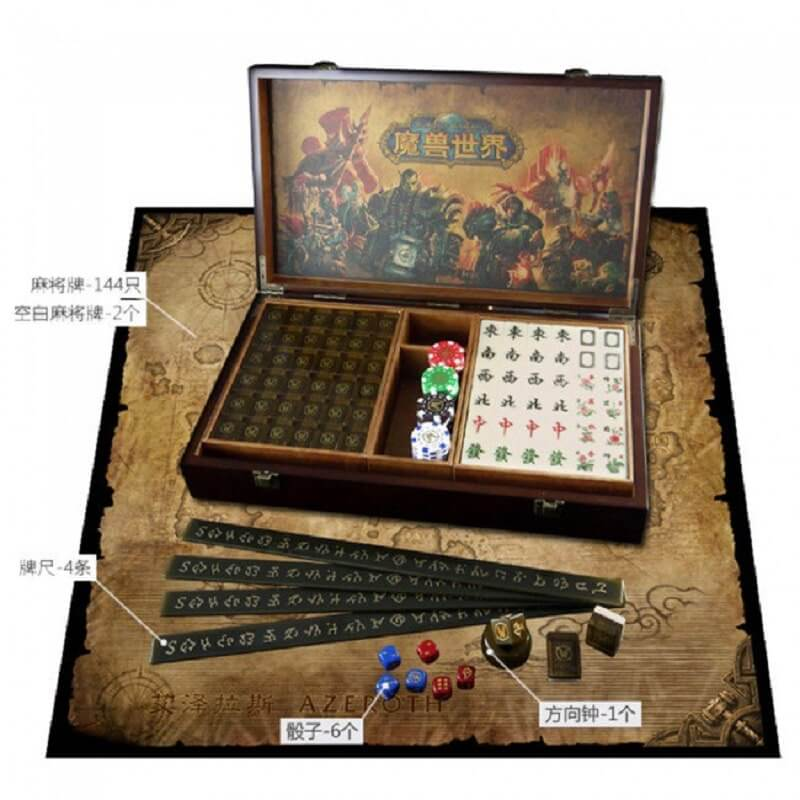 World Of Warcraft Mahjong Set Unique Set Combines Two Of