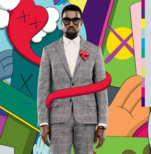 itunes KAWS cover art