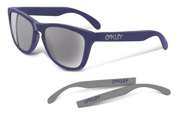 oakley four legged frogskin sunglasses Oakley Four Legged Frogskin Matte Denim | Turquiose Sunglasses