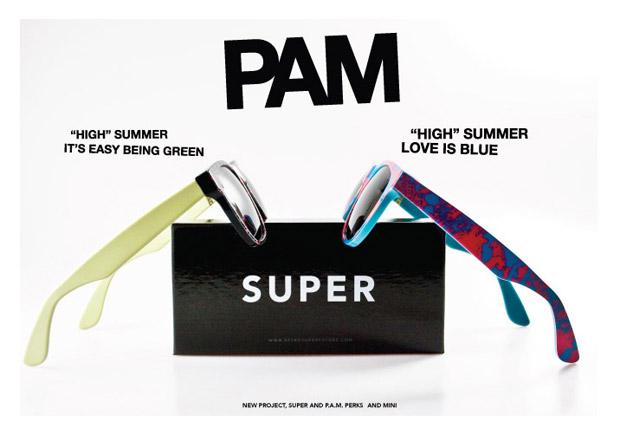 pam super sunglasses PAM x Super Sunglass Collection