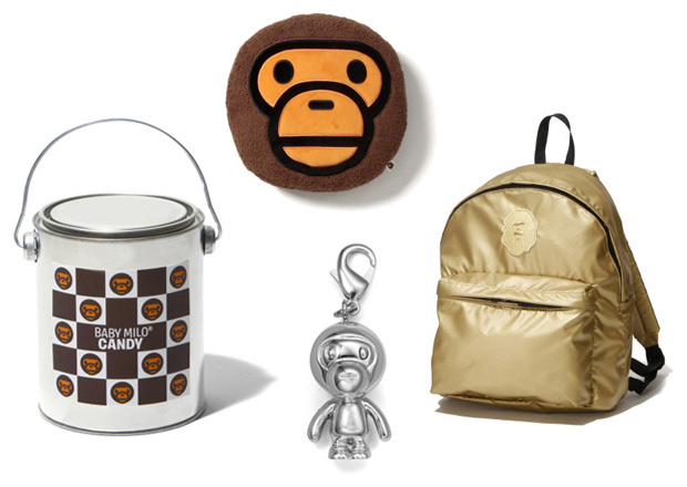 bathing ape bape baby milo accessories 1 A Bathing Ape SS 09 Accessories New Releases