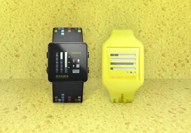 sponge bob square pants nooka watches SpongeBob SquarePants x Nooka 10th Anniversary Watch Collection