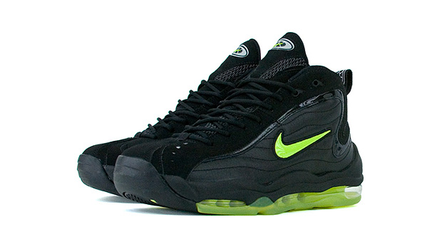 nike air max uptempo retro black volt Nike Air Max Total Uptempo Retro Black/Volt
