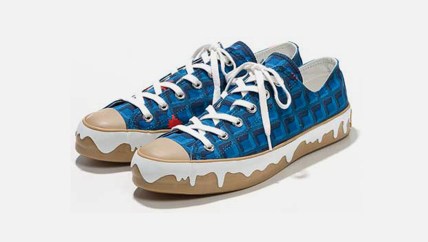 ice cream butter on waffle sneakers ICE CREAM BUTTER ON WAFFLE Sneaker