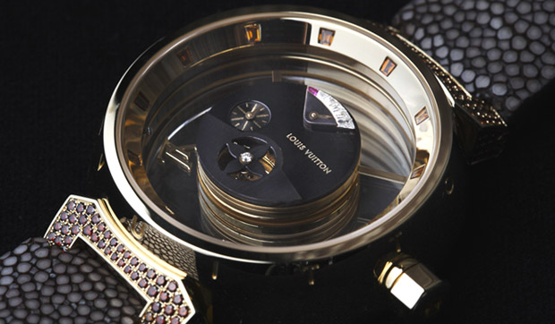 louis vuitton tambour mysterieuse watch Louis Vuitton Tambour Mysterieuse Watch