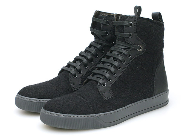 lanvin high top trainer jersey Lanvin High Top Trainer Jersey