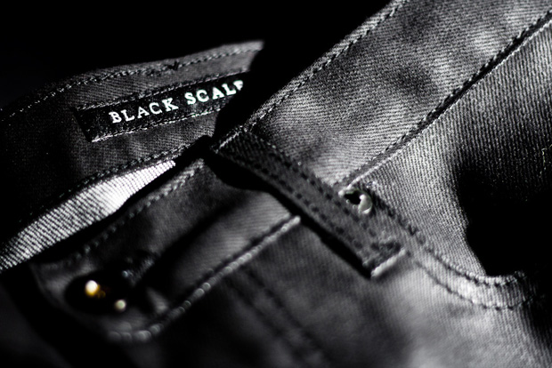 black scale waxed denim 1 Black Scale Waxed Denim Preview