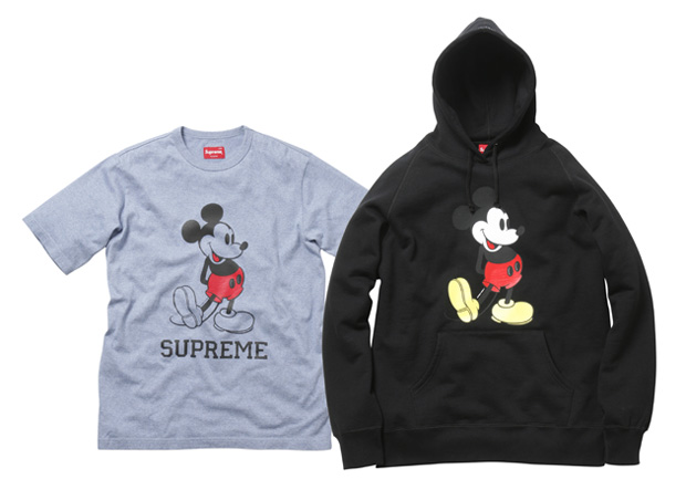 mickey mouse supreme collection 1 Mickey Mouse x Supreme Collection