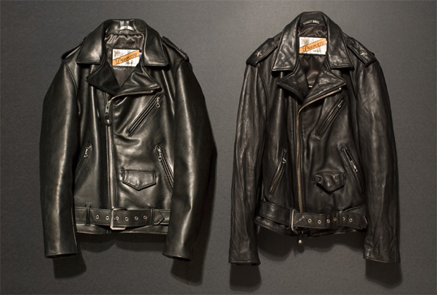 nano universe schott perfecto leather jacket nano・universe GROUNDFLOOR x Schott Perfecto Leather Jacket