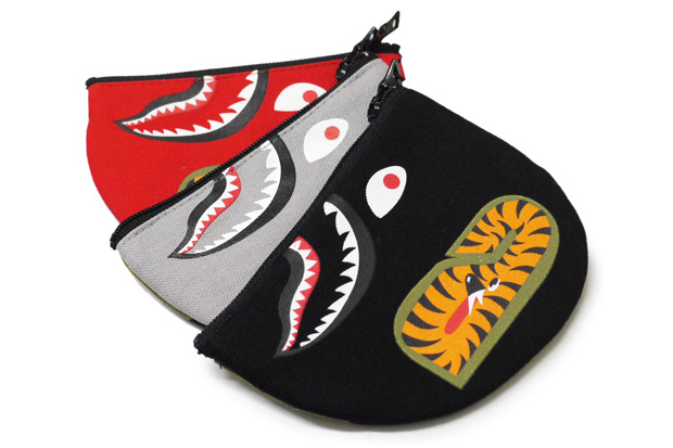 bape bathing ape shark coin pouch A Bathing Ape Shark Coin Pouch