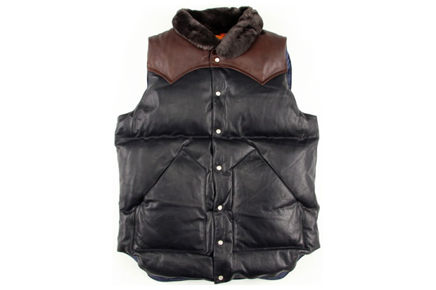 beams rocky mountain featherbed 20th anniversary vest BEAMS x Rocky Mountain Featherbed 20th Anniversary Vest