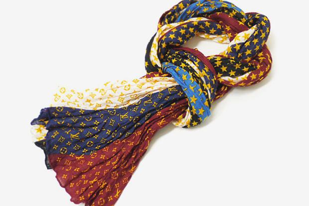louis vuitton monogram star stole scarf Louis Vuitton Monogram Star Stole Scarf